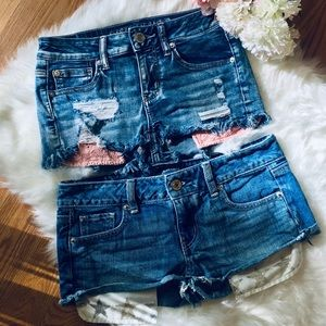 🌹Set of 2 American Eagle Shorts Size 2🌹